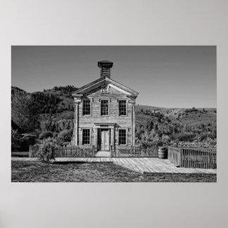 Historic Haunted Masonic Lodge Print