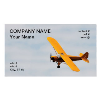 Historic high wing trainer Double-Sided standard business cards (Pack of 100)