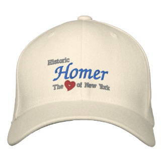 Historic Homer-Heart of New York Embroidered Cap