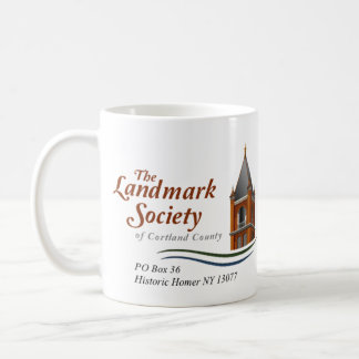 Historic Homer Landmark Society Logo Mug
