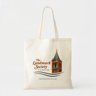 Historic Homer Landmark Society Logo Tote Bag