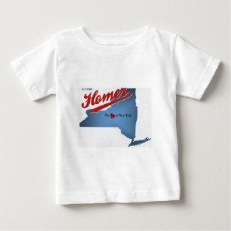 HIstoric Homer: The Heart of NY Baby T-Shirt