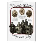 Historic Homer's Lincoln Trifecta Greeting Card