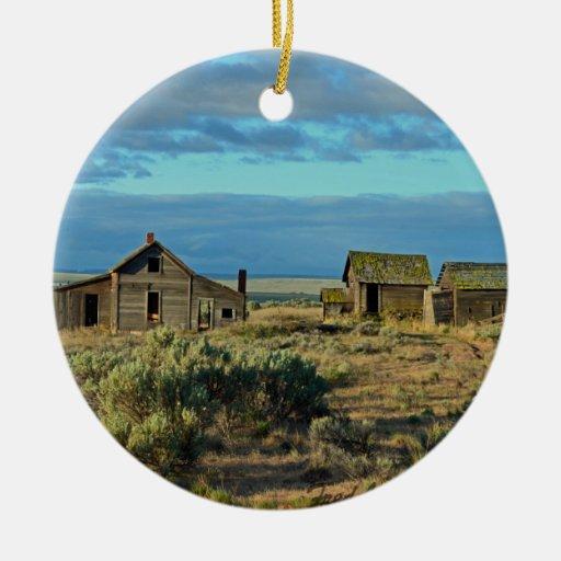 Historic Homestead Christmas Ornaments