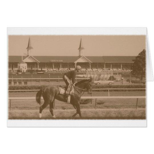 Historic Horse Racing Card