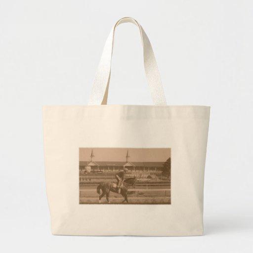 Historic Horse Racing Tote Bags