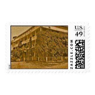 Historic Hotel de Haro Postage Stamp