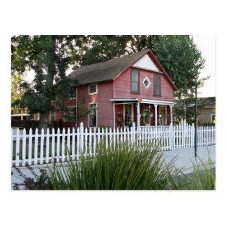 Historic House in Downtown Murrieta, CA Postcard