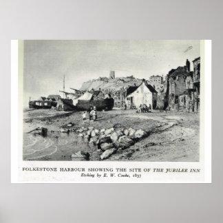 Historic inns,Folkestone Harbour, Jubilee Inn Poster