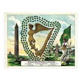 Historic Ireland St. Patrick's Day Postcard