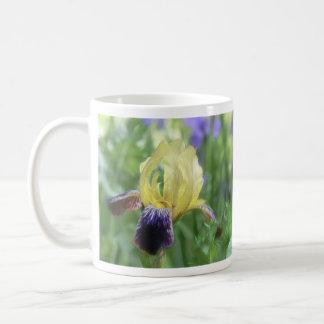 Historic Iris - Purple And Yellow Mug