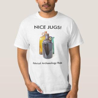 Historic jugs t-shirts