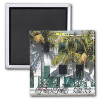 Historic Key West  Florida 2 Inch Square Magnet