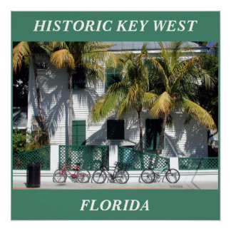 Historic Key West Florida perfect poster