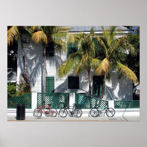 Historic Key West Florida Poster