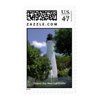 Historic Key West Lighthouse Stamp
