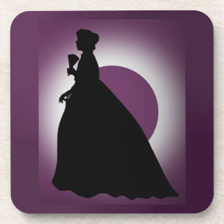 Historic Lady with Fan Coaster