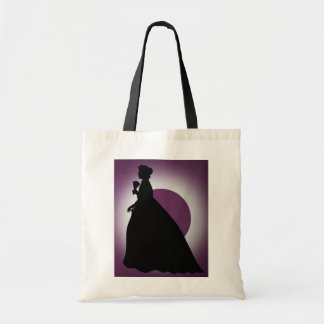 Historic Lady with Fan Tote Bag