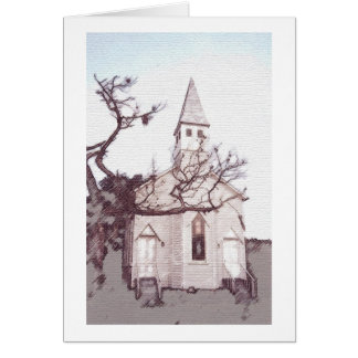 Historic LaGrange Church Card