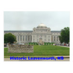 Historic Leavenworth, KS- Prison Postcard