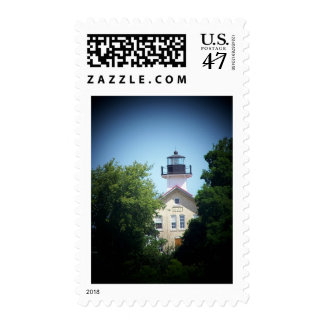 historic lighthouse postage