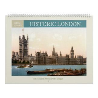 Historic London Cityscapes Calendar