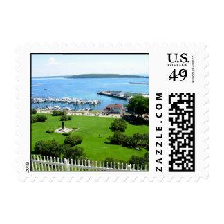 Historic Mackinac Island Postage Stamp