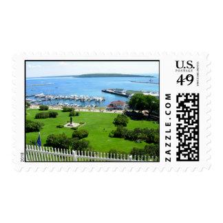 Historic Mackinac Island Postage Stamps