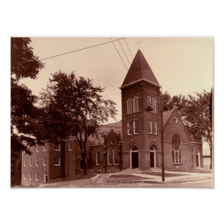 Historic Magness Baptist Church Poster