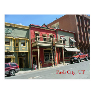 Historic Main St Postcard