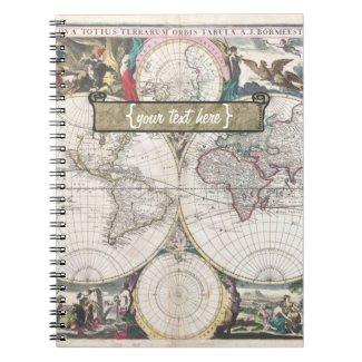 Historic Map - Nova Totius Terrarum Orbis Tabula