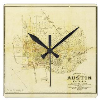 Historic Map of Austin Clocks