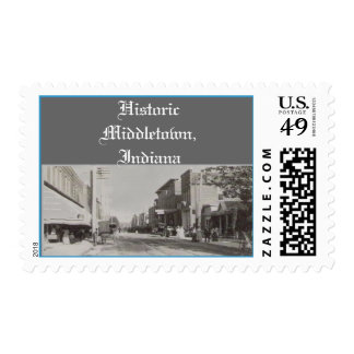 Historic Middletown, Indiana Postage