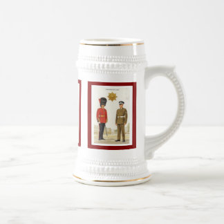 Historic military Uniforms, Coldstream Guards Beer Stein