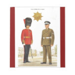 Historic military Uniforms, Coldstream Guards Notepads