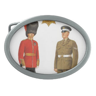 Historic military Uniforms, Coldstream Guards Oval Belt Buckle