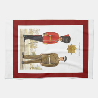 Historic military Uniforms, Coldstream Guards Towel