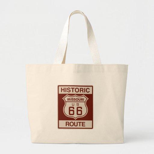 Historic Missouri Rt 66 Tote Bags
