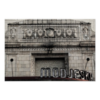 Historic Modjeska Theater Photo Art Print