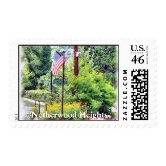 Historic Netherwood Heights Stamp
