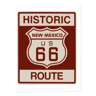 Historic New Mexico RT 66 Postcard