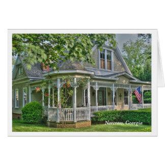 Historic Norcross, Ga: B & C's Card