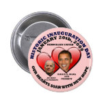 HISTORIC OBAMA INAUGURATION 1-20-2009 - Customized Buttons