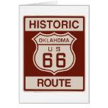 Historic Oklahoma RT 66 Card