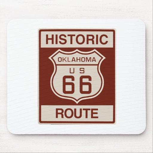 Historic Oklahoma RT 66 Mousepad