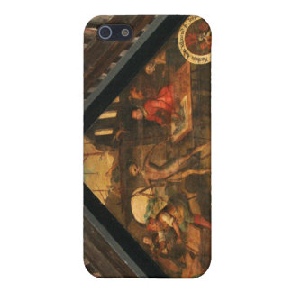 Historic painting wooden bridge Lucerne Cover For iPhone 5