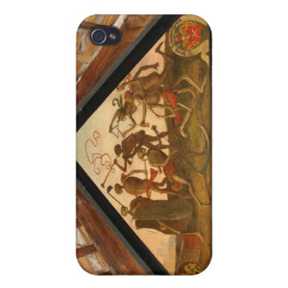 Historic painting wooden bridge Luverne Cover For iPhone 4
