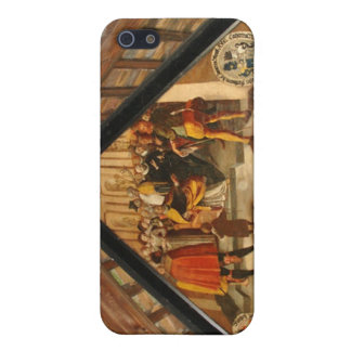 Historic panel from wooden bridge Lucerne iPhone 5 Case