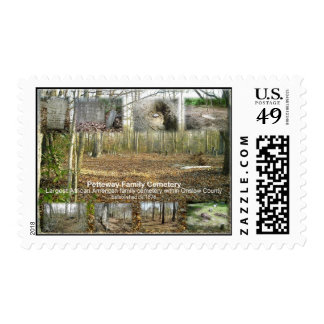 Historic Petteway Cemetery stamp