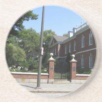 Historic Philadelphia Drink Coaster